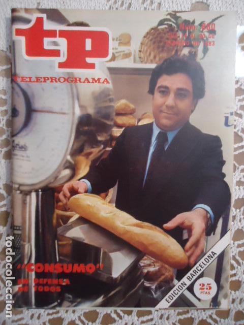 REVISTA TP TELEPROGRAMA Nº 880 CONSUMO (Coleccionismo - Revistas y Periódicos Modernos (a partir de 1.940) - Revista TP ( Teleprograma ))