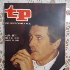 Collezionismo di Rivista Teleprograma: REVISTA TP TELEPROGRAMA Nº 883 ROCK HUDSON. Lote 134590642