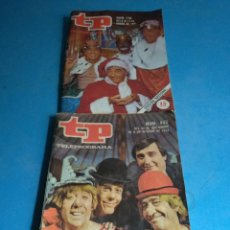 Coleccionismo de Revista Teleprograma: REVISTA TP N'443-770 AÑO 1974-1981(PAYASOS DE LA TELE). Lote 134611935