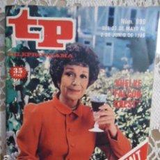 Coleccionismo de Revista Teleprograma: REVISTA TP TELEPROGRAMA Nº 999 VUELVE FALCON CREST. Lote 134637306