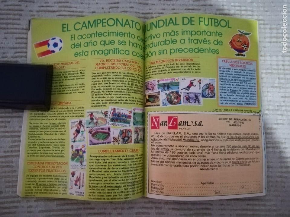 Coleccionismo de Revista Teleprograma: TELEPROGRAMA 845 JUNIO DE 1982 EXTRA MUNDIAL 82 GORDILLO ALESANCO CAMACHO ARCONADA TP - Foto 2 - 52842601