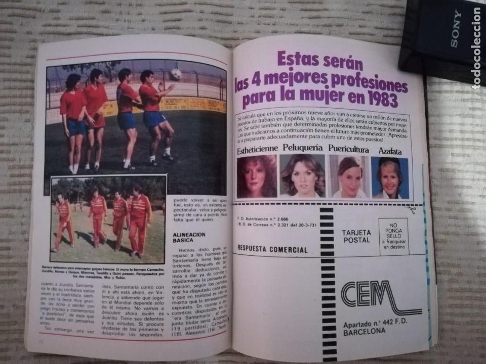 Coleccionismo de Revista Teleprograma: TELEPROGRAMA 845 JUNIO DE 1982 EXTRA MUNDIAL 82 GORDILLO ALESANCO CAMACHO ARCONADA TP - Foto 6 - 52842601