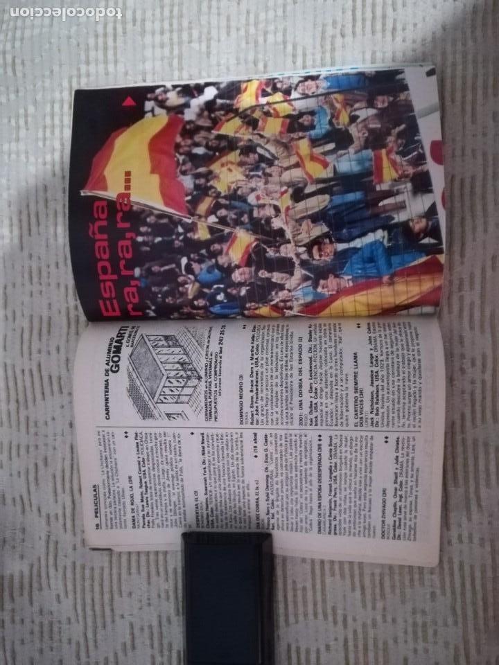 Coleccionismo de Revista Teleprograma: TELEPROGRAMA 845 JUNIO DE 1982 EXTRA MUNDIAL 82 GORDILLO ALESANCO CAMACHO ARCONADA TP - Foto 12 - 52842601