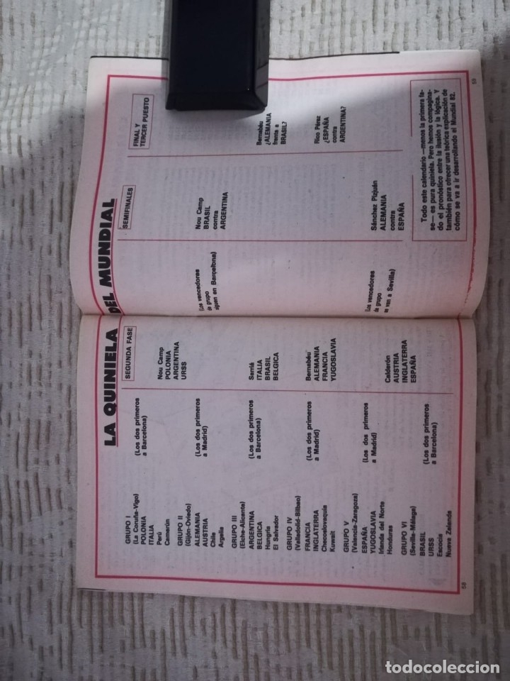 Coleccionismo de Revista Teleprograma: TELEPROGRAMA 845 JUNIO DE 1982 EXTRA MUNDIAL 82 GORDILLO ALESANCO CAMACHO ARCONADA TP - Foto 13 - 52842601
