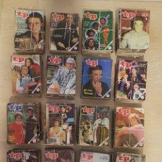 Coleccionismo de Revista Teleprograma: LOTE 540 REVISTAS TP - DE LOS AÑOS 1979 A 1991- TODOS EN PESETAS. Lote 137790526