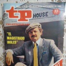 Collezionismo di Rivista Teleprograma: TP TELEPROGRAMA Nº 1016 - 1985 - EL MAGISTRADO INGLES. Lote 137884898