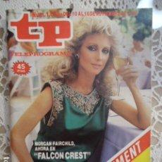 Coleccionismo de Revista Teleprograma: TP TELEPROGRAMA Nº 1075 - 1986 - FALCON CREST. Lote 137890854