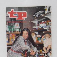 Coleccionismo de Revista Teleprograma: REVISTA TP, TELEPROGRAMA, NUM 871, AÑO 1982, TERESA RABAL LOS JUGUETES TP. Lote 139394426