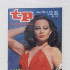 Coleccionismo de Revista Teleprograma: REVISTA TP, TELEPROGRAMA, NUM 995, AÑO 1985, PALOMA SAN BASILIO. Lote 139436554