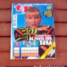 Coleccionismo de Revista Teleprograma: TP / TELEPROGRAMA / XUXA MENEGHEL / 1992 / MARIA DA GRAÇA MENEGHEL. Lote 143078686