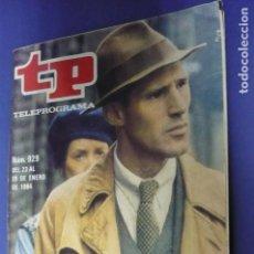 Coleccionismo de Revista Teleprograma: TP Nº 929. Lote 143302114