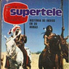 Coleccionismo de Revista Teleprograma: REVISTA SUPERTELE Nº 72 HULK LOU FERRINGO CENTENNIAL LOS DESASTRES DE LA GUERRA. Lote 144575034