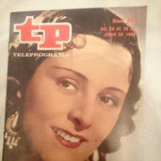 Coleccionismo de Revista Teleprograma: TP TELEPROGRAMA N 898 -DEL 20 AL 26 JUNIO 1983 - IMPERIO ARGENTINA. Lote 146703258
