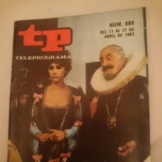 Coleccionismo de Revista Teleprograma: TP TELEPROGRAMA N 888 -DEL 11 AL 17 ABRIL 1983 - LOS VIERNES LAS PICARAS. Lote 146703538