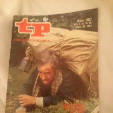 Coleccionismo de Revista Teleprograma: TP TELEPROGRAMA N 887 -DEL 4 AL 10 ABRIL 1983 -EN ABRIL PELICULAS MIL - EL BOSQUE DEL LOBO. Lote 146704310