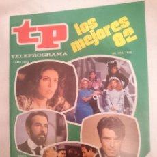 Coleccionismo de Revista Teleprograma: TP TELEPROGRAMA N 885 -DEL 21 AL 27 MARZO 1983 - LOS MEJORES 82 -VER FOTO. Lote 146704370