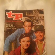 Coleccionismo de Revista Teleprograma: TP TELEPROGRAMA N 881 -DEL 21 AL 27 FEBRERO 1983 - MASH UNA SATIRA DE LA GUERRA. Lote 146704402