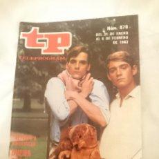 Coleccionismo de Revista Teleprograma: TP TELEPROGRAMA N 878 -DEL 31 ENERO AL 6 FEBRRERO 1983 - RETORNO A BRIDESHEAD. Lote 146704466