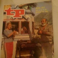 Coleccionismo de Revista Teleprograma: TP TELEPROGRAMA N 852 -DEL 2 AL 8 AGOSTO 1982 VUELVE VERANO AZUL. Lote 146705422