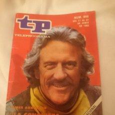 Coleccionismo de Revista Teleprograma: TP TELEPROGRAMA N 846 -DEL 21 AL 27 JUNIO 1982 - JAMES ARNESS EN LA CONQUISTA DEL OESTE. Lote 146705470