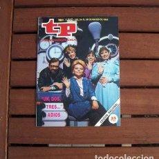 Coleccionismo de Revista Teleprograma: TP / TELEPROGRAMA / UN DOS TRES / LOS MEJORES DE TP 1985. Lote 146775142