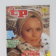 Coleccionismo de Revista Teleprograma: REVISTA TP, TELEPROGRAMA, NUM 1246, AÑO 1990, LEE REMICK. Lote 146853198