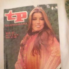Coleccionismo de Revista Teleprograma: TP TELEPROGRAMA N 837 -DEL 18 AL 25 ABRIL 1982 - LUCIA SABADO EUROVISION. Lote 146885766