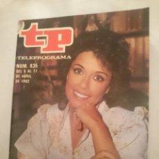 Coleccionismo de Revista Teleprograma: TP TELEPROGRAMA N 835 -DEL 5 AL 11 ABRIL 1982 - LOS RASGOS DE MONICA RANDALL. Lote 146885918
