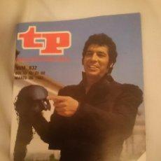 Coleccionismo de Revista Teleprograma: TP TELEPROGRAMA N 832 -DEL 15 AL 21 MARZO 1982 -EL VIERNES DEBUT DE LA MASCARA. Lote 146886294