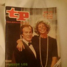 Coleccionismo de Revista Teleprograma: TP TELEPROGRAMA N 818 DEL 12 AL 18 OCTUBRE 1981 - DESDE LOS TIEMPOS DE ADAN. Lote 146887798