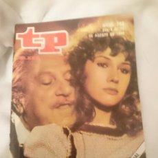 Coleccionismo de Revista Teleprograma: TP TELEPROGRAMA N 748 -DEL 4 AL 10 AGOSTO 1980 - CAÑAS Y BARRO -VUELVE UN EXITO DE RTVE. Lote 146962594