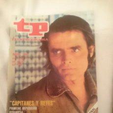 Coleccionismo de Revista Teleprograma: TP TELEPROGRAMA N 746 DEL 21 AL 27 JULIO 1980 - CAPITANES Y REYES -PRIMERA REPOSICION VERANIEGA. Lote 146962646