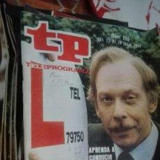 Coleccionismo de Revista Teleprograma: REVISTA TP TELEPROGRAMA Nº 955 SEÑOR ROPER. Lote 146992834