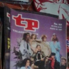 Coleccionismo de Revista Teleprograma: REVISTA TP TELEPROGRAMA Nº 959 POP QUE. Lote 146993218
