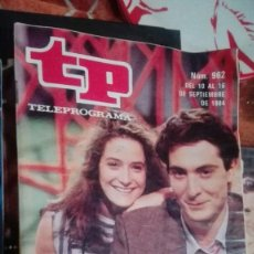Coleccionismo de Revista Teleprograma: REVISTA TP TELEPROGRAMA Nº 962 CREMALLERA. Lote 146993514