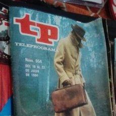 Coleccionismo de Revista Teleprograma: REVISTA TP TELEPROGRAMA Nº 954 REILLY AS DE ESPIAS. Lote 146993810