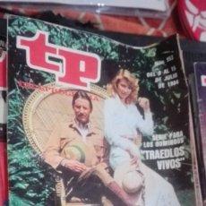 Coleccionismo de Revista Teleprograma: REVISTA TP TELEPROGRAMA Nº 953 TRAEDLOS VIVOS. Lote 146994338