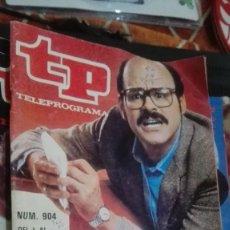Coleccionismo de Revista Teleprograma: REVISTA TP TELEPROGRAMA Nº 904 UN SEXTO SENTIDO. Lote 146994986