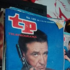 Coleccionismo de Revista Teleprograma: REVISTA TP TELEPROGRAMA Nº 1026 MASCARADA. Lote 146995434