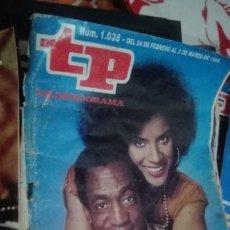Coleccionismo de Revista Teleprograma: TP TELEPROGRAMA Nº 1038 - 1986 - EL SHOW DE BILL COSBY. Lote 146995738