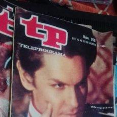 Coleccionismo de Revista Teleprograma: REVISTA TP TELEPROGRAMA Nº 958 LUDWIG EL REY LOCO. Lote 146995962