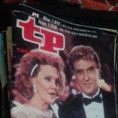 Coleccionismo de Revista Teleprograma: REVISTA TP TELEPROGRAMA Nº 1036 MUJERES DE HOLLYWOOD. Lote 146996562
