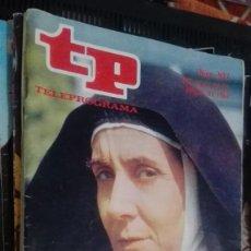 Coleccionismo de Revista Teleprograma: REVISTA TP, TELEPROGRAMA, NUM 937, AÑO 1984, CONCHA VELASCO. Lote 146997462