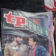 Coleccionismo de Revista Teleprograma: REVISTA TP TELEPROGRAMA Nº 1024 PATXI ANDION REPORTERO DE SUCESOS. Lote 146997910