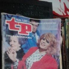 Coleccionismo de Revista Teleprograma: TP TELEPROGRAMA Nº 1047 - 1986 - ESTA NOCHE PEDRO. Lote 146998174