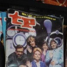 Coleccionismo de Revista Teleprograma: TP TELEPROGRAMA Nº 1042 - 1986 - UN,DOS,TRES ADIOS. Lote 146998330