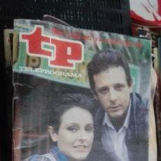 Coleccionismo de Revista Teleprograma: TP TELEPROGRAMA NÚM. 1050 - DEL 19 AL 25 DE MAYO DE 1986 - LOS DOMINGOS RECORDAR PELIGRO DE M. Lote 146998722