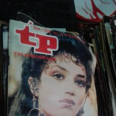 Coleccionismo de Revista Teleprograma: REVISTA TP TELEPROGRAMA Nº 1018 ANGELA MOLINA EN QUO VADIS?. Lote 146999034