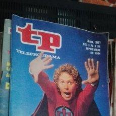Coleccionismo de Revista Teleprograma: REVISTA TP TELEPROGRAMA Nº 961 EL GRAN HEROE AMERICANO. Lote 154507933