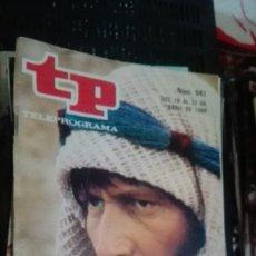 Coleccionismo de Revista Teleprograma: REVISTA TP TELEPROGRAMA Nº 941 - MASADA. Lote 147000578